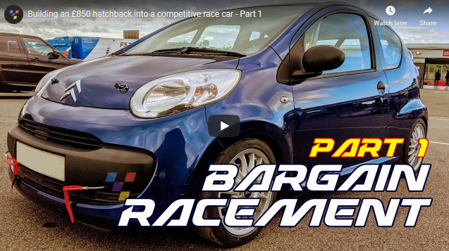 Project Bargain Racement: Building A Race Car From An $1100 Hatchback. What Could Possibly Go Wrong?