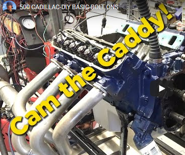 Making Big Power With A 500 Inch Caddy! GM's Biggest Factory Offering Makes More Power Than You'd Think Stock, But What Will Some Parts Do For It?