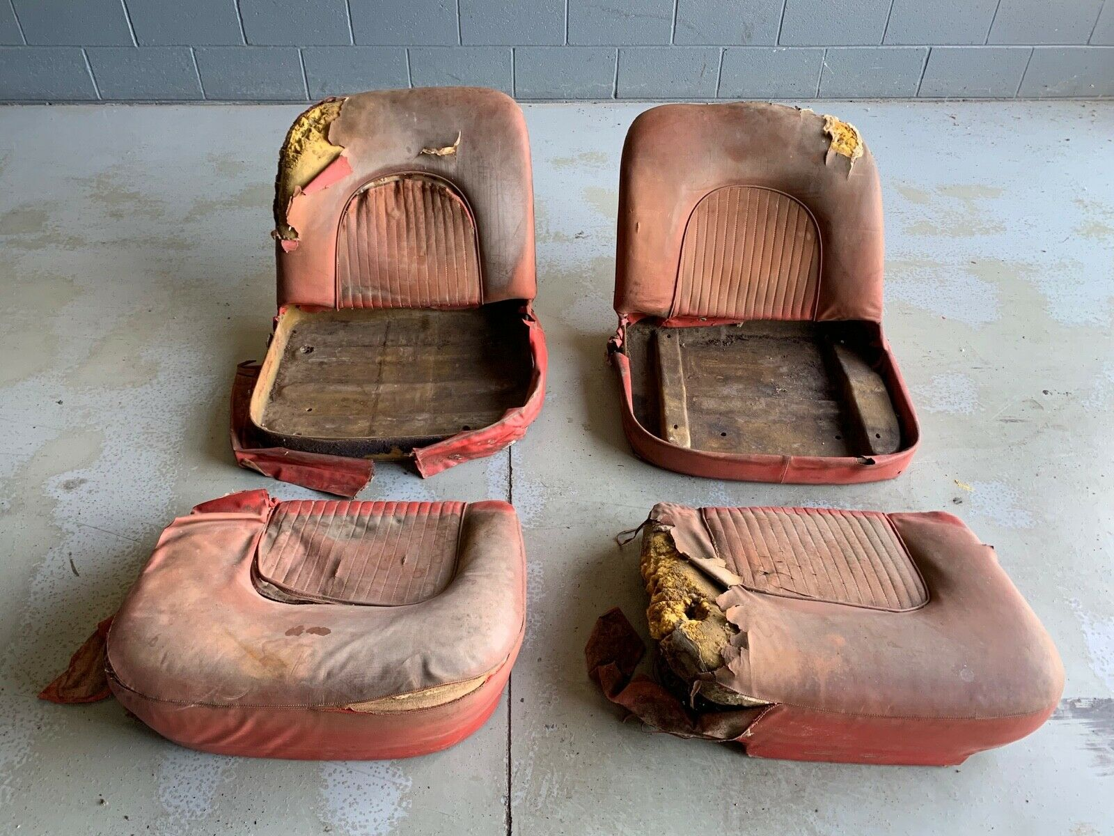 Seats Of Power: These Are The Actual Seats From One Of The Original Pre-Production Corvette Show Cars