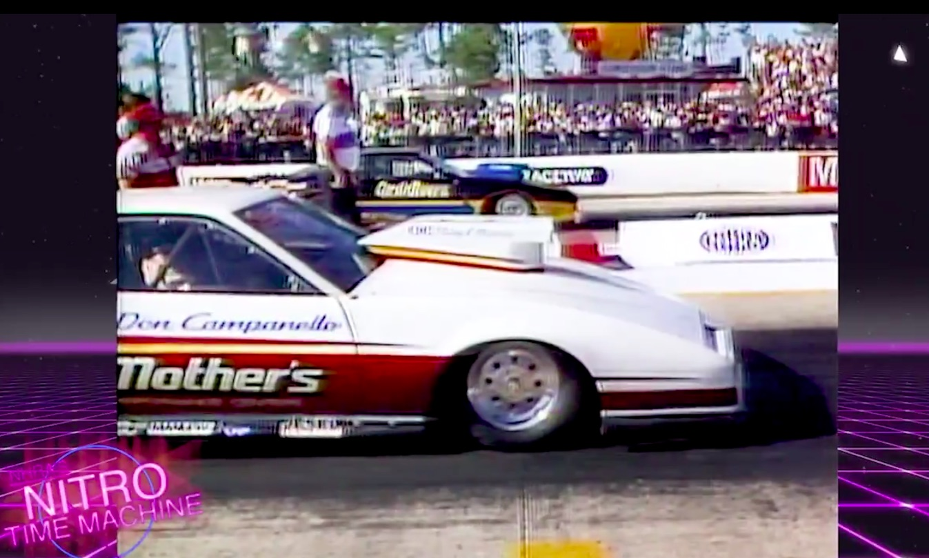 Nitro Time Machine: The Day Don Campanello Tasted Pro Stock Glory At The 1986 Gatornationals