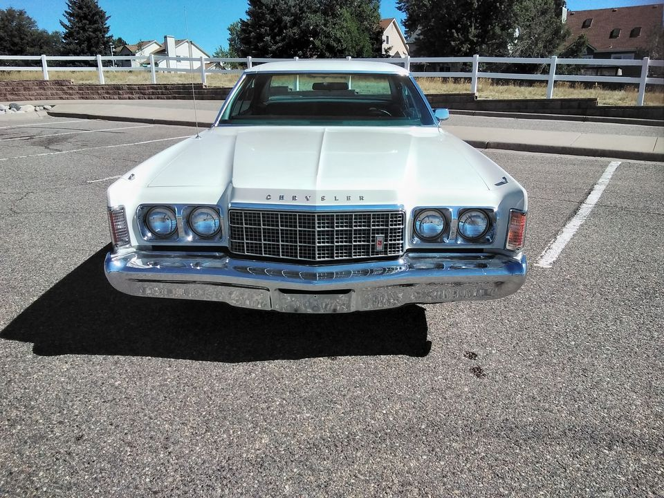 Rough Start: 1974 Chrysler Newport: Imposing Presence, And Modern Mass