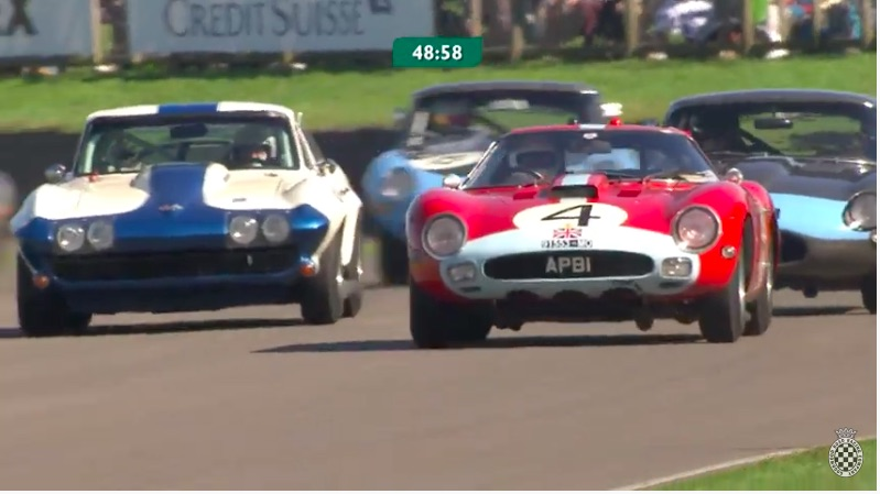 Racing Royalty Video: Ride In and Watch From Outside Of A 1964 Ferrari 250 GTO At Goodwood