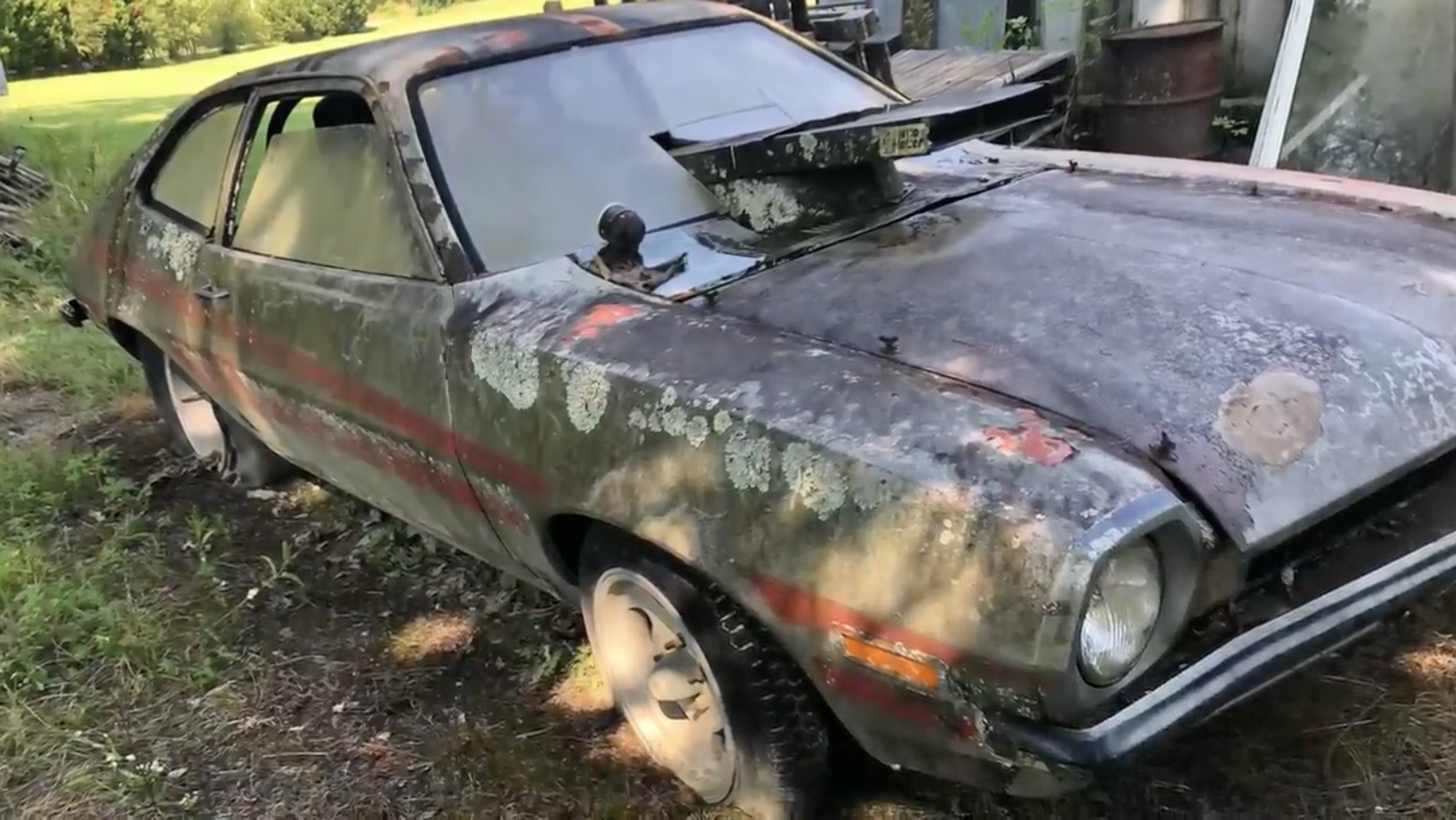 Old Paint: This Ford Pinto Drag Machine Is An Old 1/8th Mile Stormer!