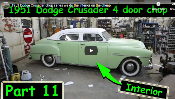 The Chop Top Dodge Crusader Gets A Cheap DIY Interior. Watch And See Just How You Can Do Your Own Interior At Home.