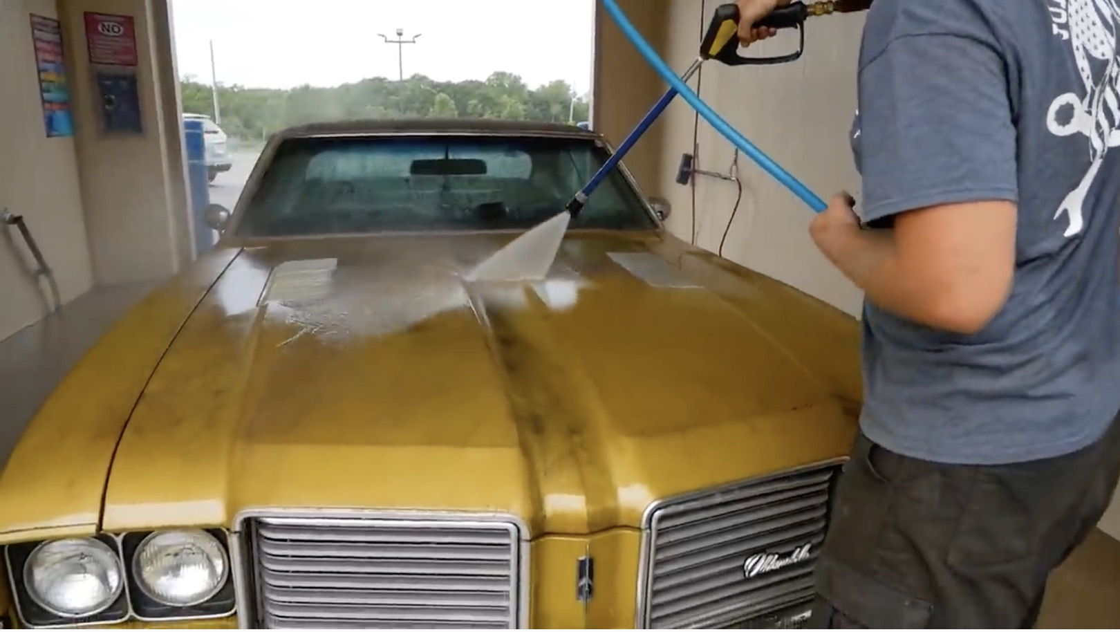 Dusting Off The Gold Nugget: The 1972 Storage Shed Cutlass Comes Out Into The Light