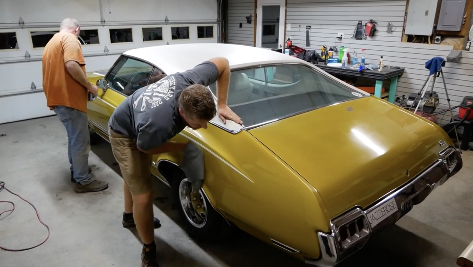 Polishing Up The Gold Nugget: Buffing Out The Storage-Shed 1972 Cutlass
