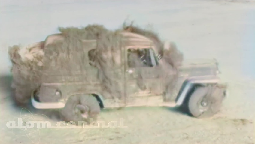 Nightmare Fuel: This 1950s Video Shows The Effects Of A Nuclear Blast On Vehicles – Insane