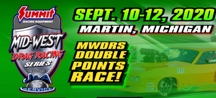 Mid West Drag Racing Series LIVE From US 131 Motorsports Park In Martin Michigan!