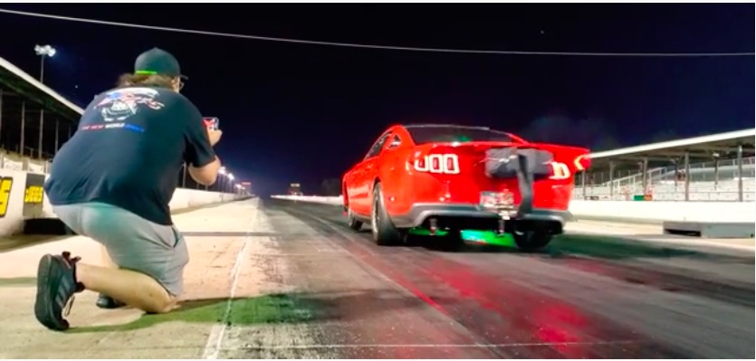 Real Hustle Video: Watch The Quickest Stick Shift Coyote Mustang In The World Run 7.86 –