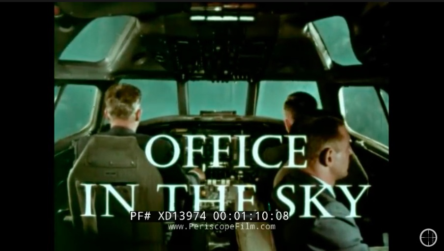 Office In The Sky: This 1960s United Airlines Pilot Recruitment Film Is Really Cool
