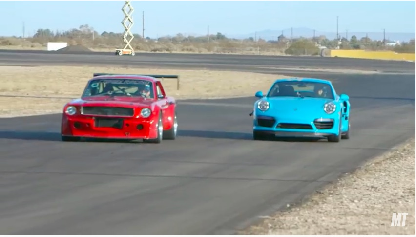 Pro Touring Vs Germany: A Killer 1966 Mustang Takes On A Porsche 911 Turbo S At The Streets Of Willow!