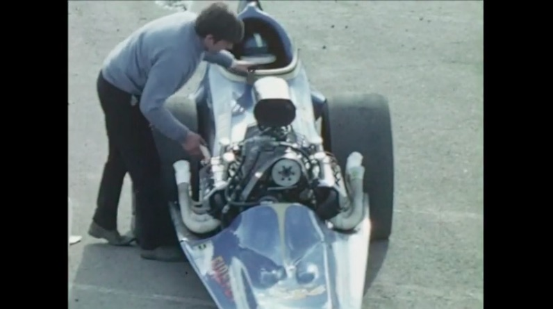 This Clip From The 1972 Springnationals at Santa Pod Raceway In England – The Cars Rule!