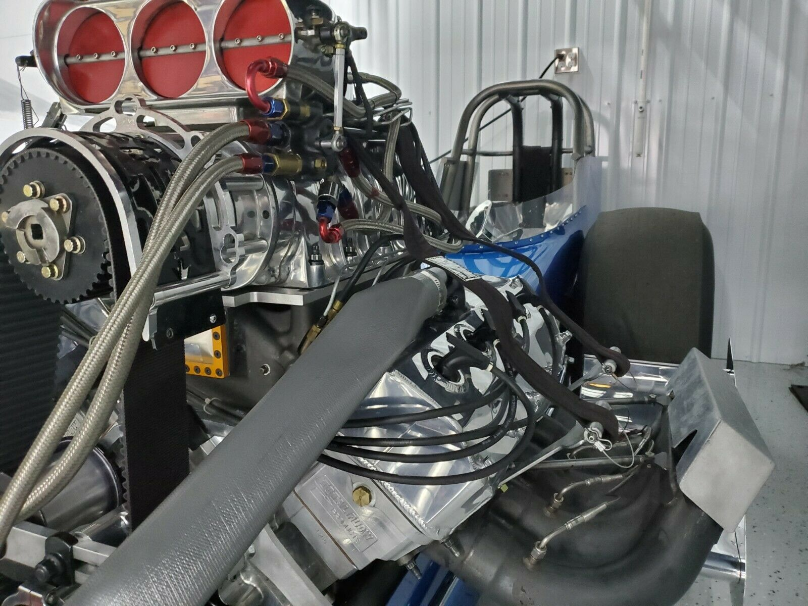 Turn-Key Speed: This Blown, Virtually New Slingshot Dragster Comes Ready To Run And With Spares
