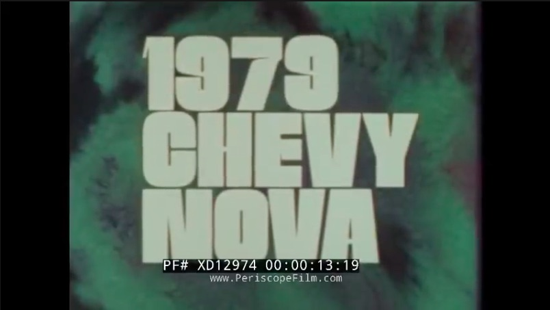 Promotional Goodness: This Chevrolet Pitch Video For The 1979 Nova and Monza Is A Fun Watch
