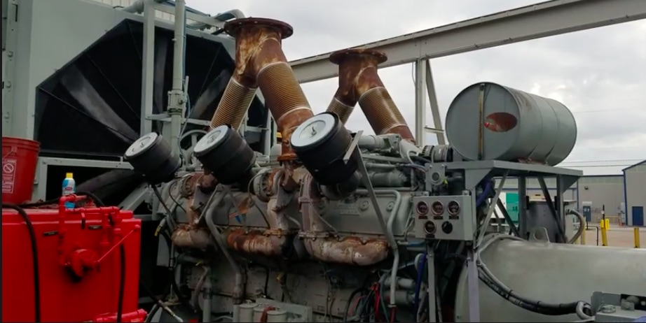 """Glorious Noise: Watch This 20V149 Detroit Diesel Fire Up And Then Get Run At """"High"""" RPM!"""