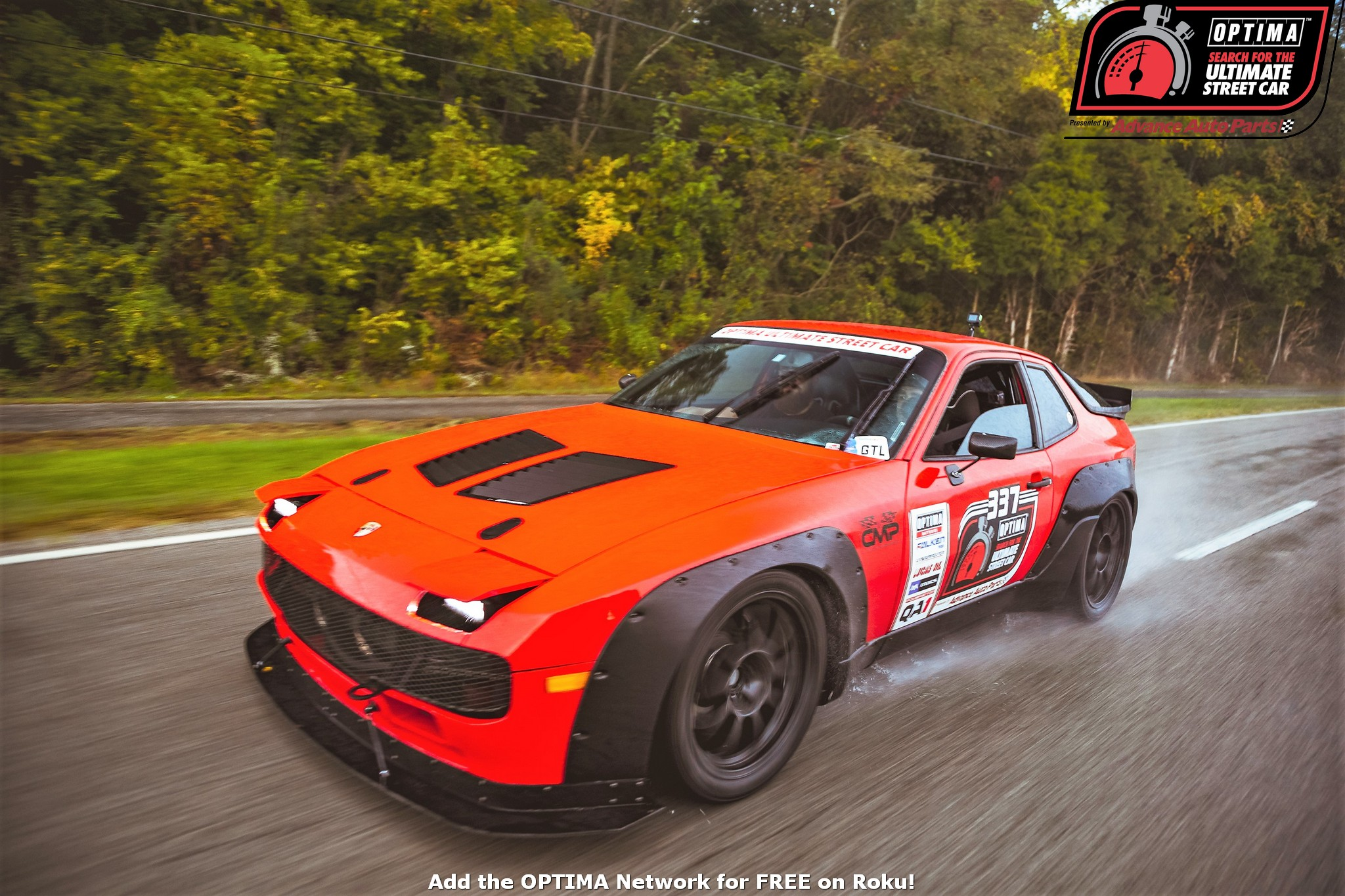 OPTIMA's Wet Search For The Ultimate Street Car: Real Street Cars Run In The Rain