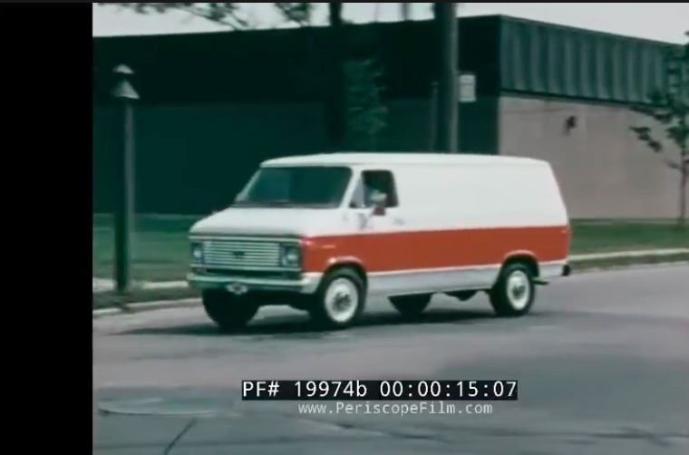 It's The Van, Man: This 1975 Chevrolet Promotional Film Hawking Vans Is Pretty Awesome