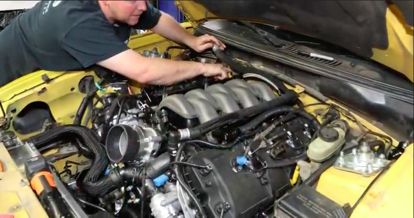 Swap Story: This Video Shows The Process Of Swapping A Coyote Into A New Edge Mustang