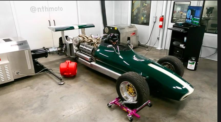 Truly Custom: Watch Don Groff Run His Custom Built Toyota 1JZ V12 Powered Open Wheel Car On The Dyno