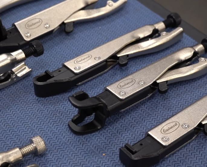The Clamp: You Can Never Have Enough Clamps! Eastwood Has A Killer Selection Of Specialty Welding Clamps and Clamping Pliers