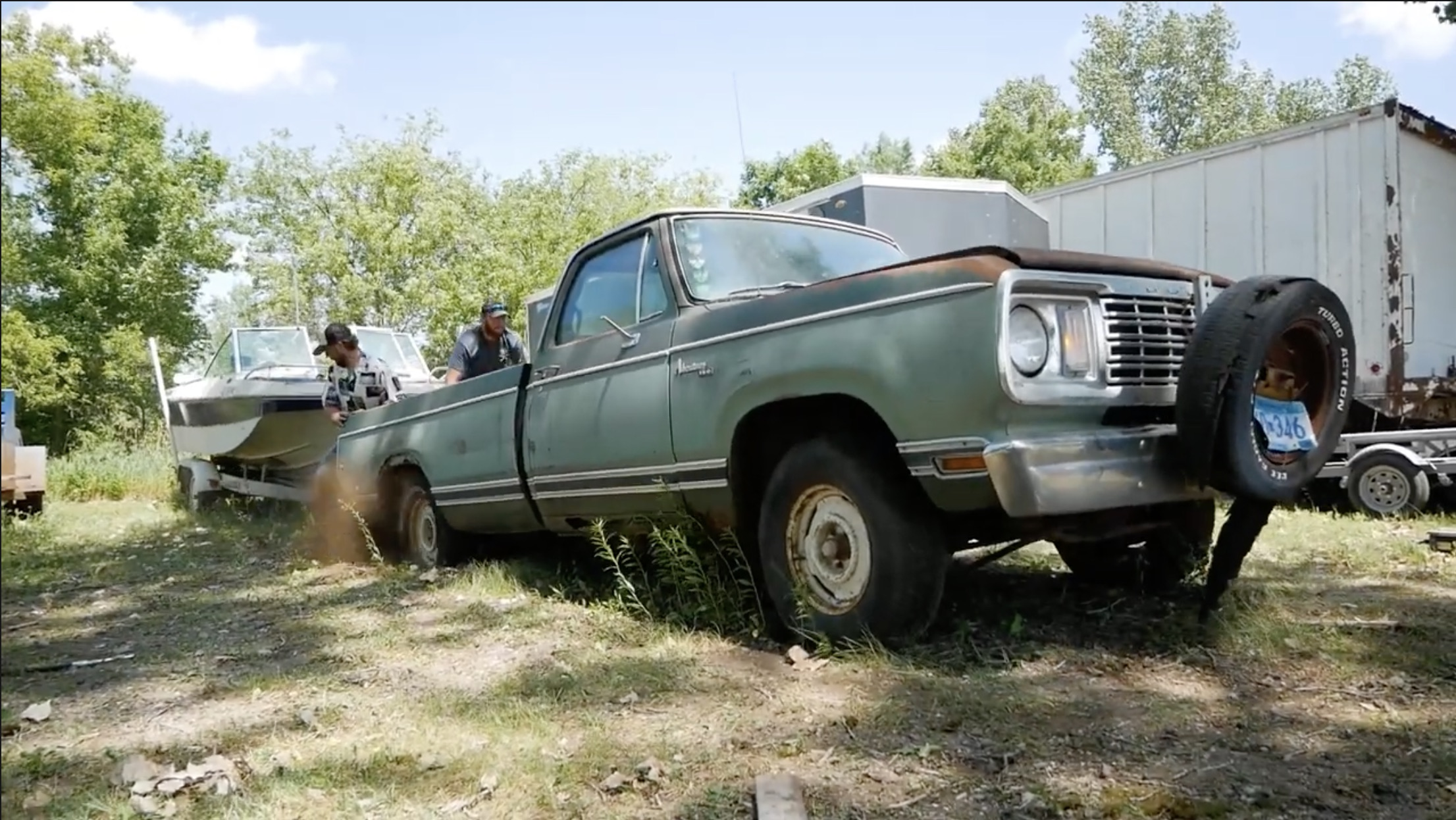 """Crispy Fried Ram: Waking Up A Rusty Dodge Truck The Right And """"YouTube"""" Way"""