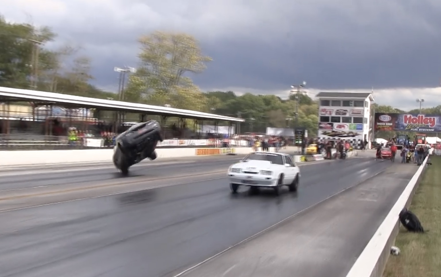 Turning Over A New Leaf: Kevin McMullin's Radical Crash At Holley's Intergalactic Ford Fest