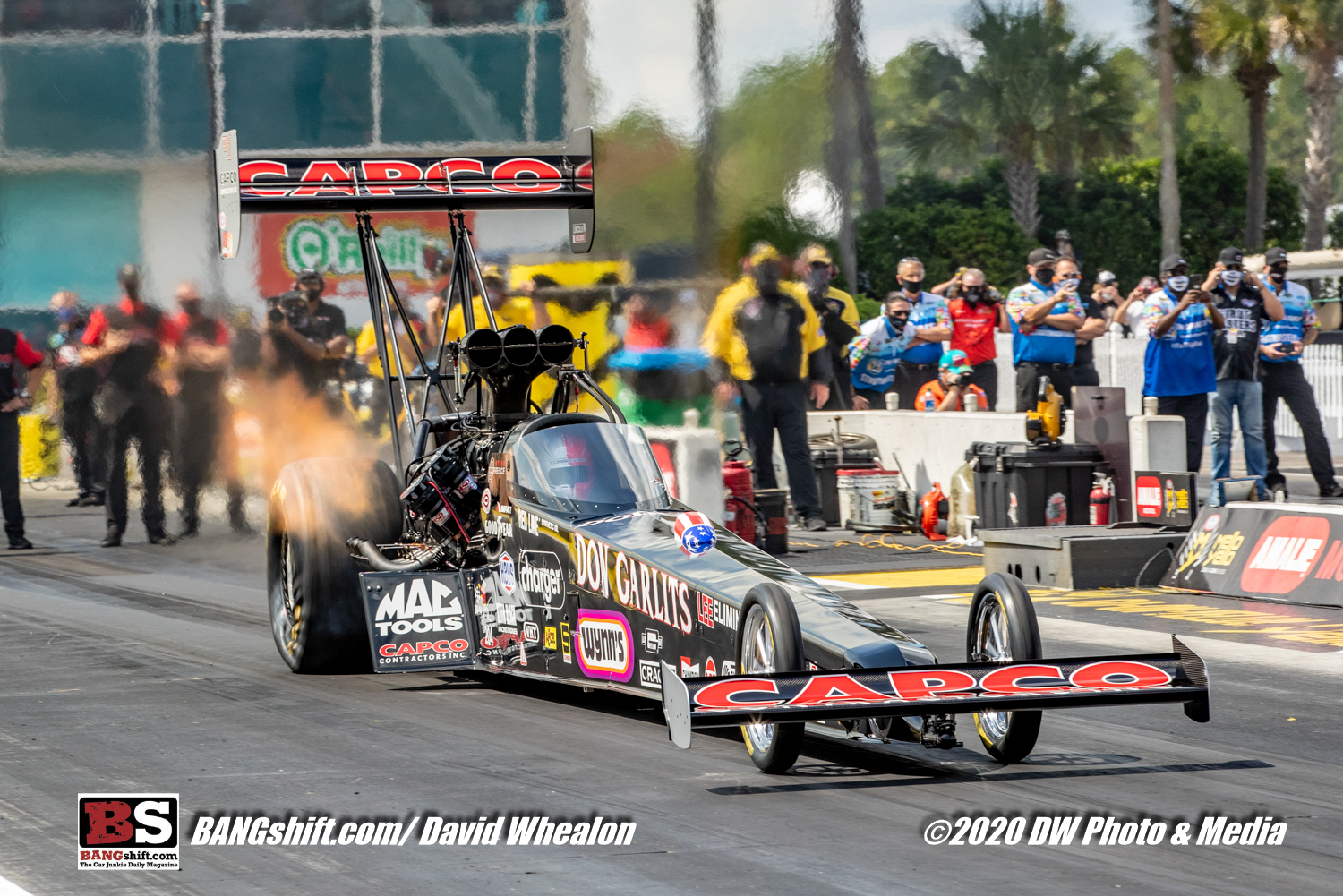 Speed In The Swamp: Top Fuel and Funny Car Action Photos From The 2020 NHRA Gatornationals