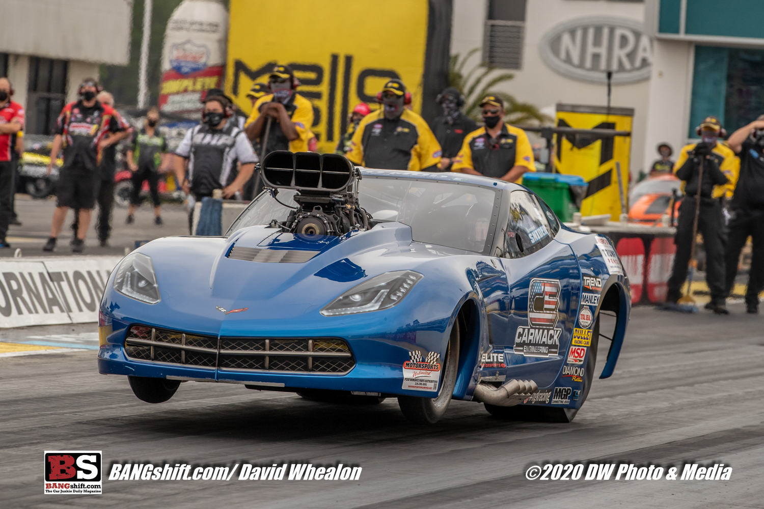 2020 Amalie Oil NHRA Gatornationals Action Photos: Those Wild and Wooly Pro Mods!