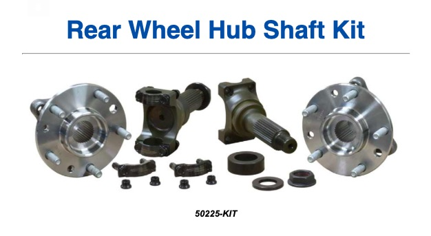 Hot Parts: Mark Williams Enterprises upgrade for the C4 Corvette Rear Wheel Hub Shaft Solves The Problems Of Breakage