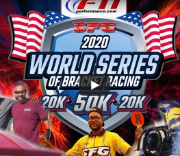 FREE LIVE STREAMING DRAG RACING: The SFG, FTI Performance, World Series of Bracket Racing Is LIVE Today Through Sunday!