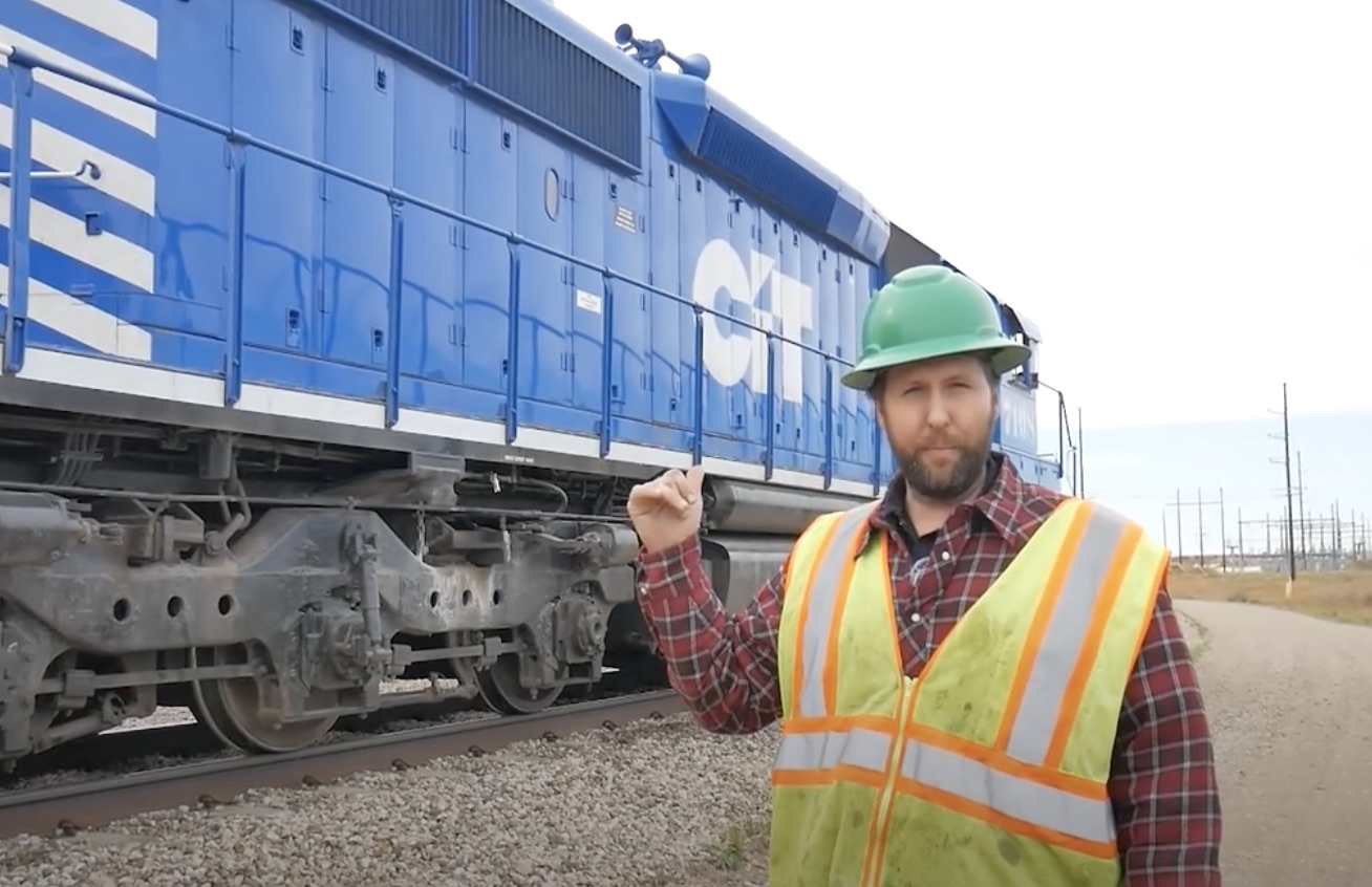Bucket List Item: Get A Tour Of A Real-Live Locomotive In Action