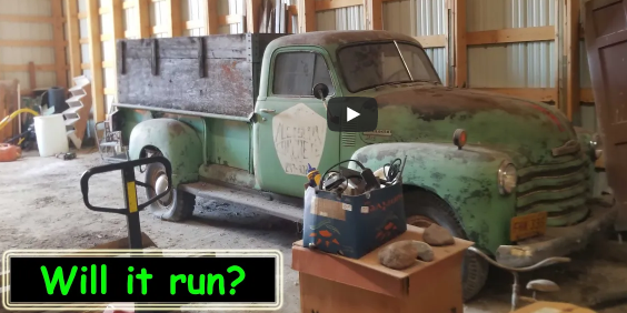 Can Halfass Kustoms Get This Seized 1951 Chevy Pickup Running And Driving Since It Last Ran In 1976?!