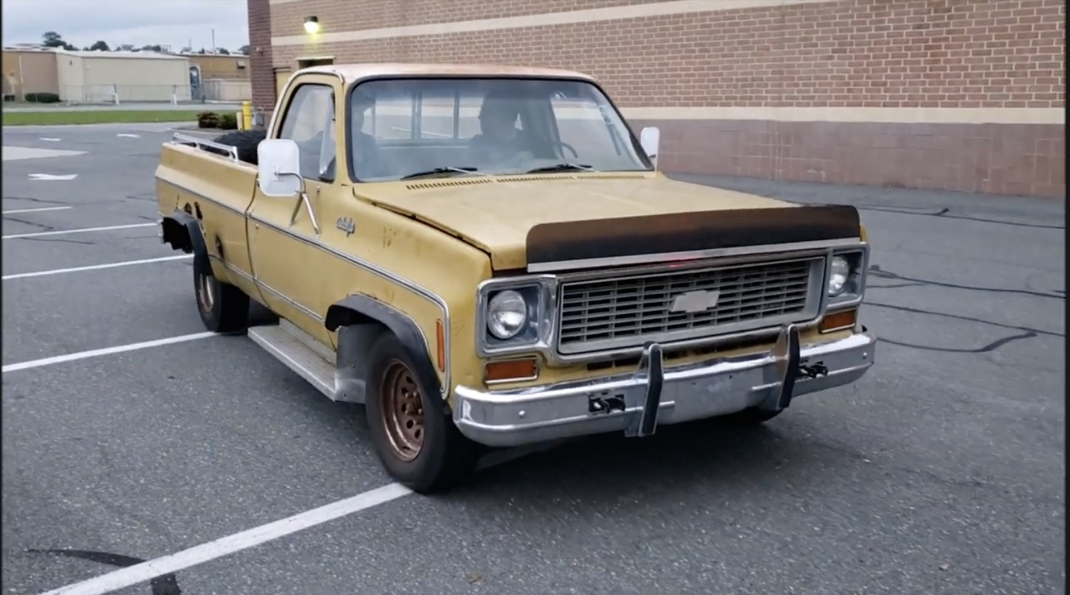 Leaving The Farm: The Most Low-Mile Rusty Chevy You've Ever Seen Drives To It's New Digs