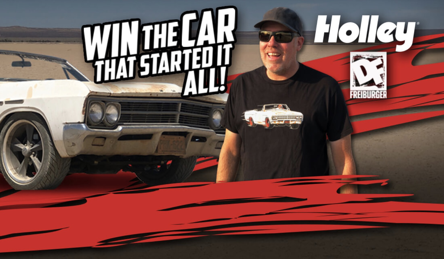 Win A Car You'd Really Want: Holley Is Giving Away The 1966 Buick Special Convertible That Started Roadkill