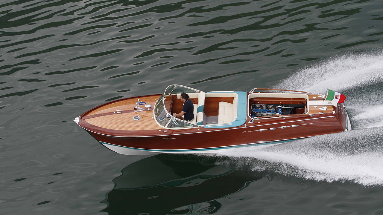 The One, And Only, Riva Aquarama Lamborghini May Be The Sexiest Boat Ever Made