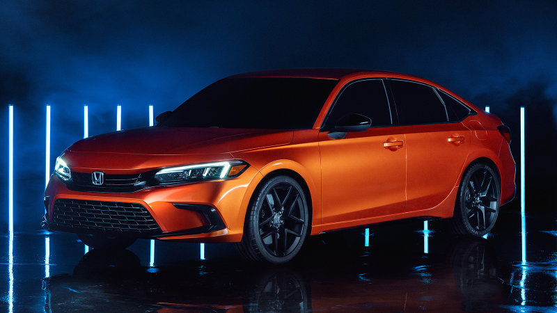 The 2021 Honda Civic Is Coming: Our Little Boy Is All Growed Up!