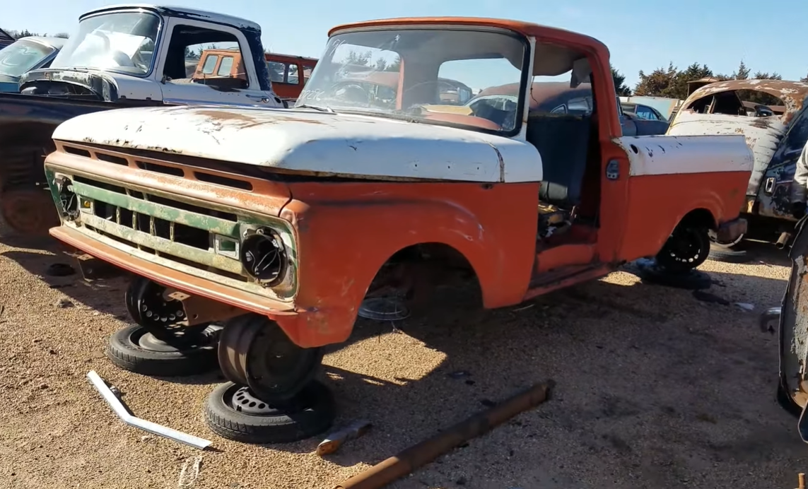 Rebeldryver Walks Us Through Another Massive Wrecking Yard Full Of Classic Iron In Nebraska