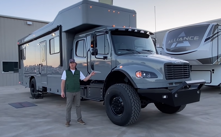 If You Want An Off-Road Motorhome, This Showhauler Is The Bad Ass Choice For Sure!