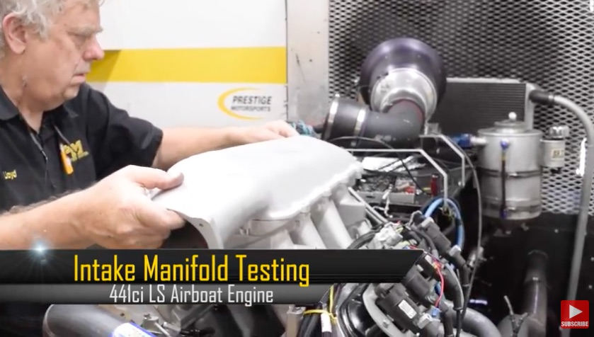 Intake Intensity Video: Watch Four Intake Manifolds Get Tested On A 600hp LS Engine