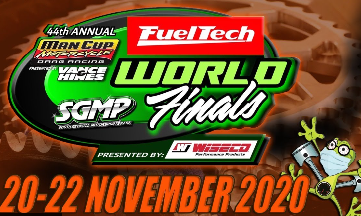 The 44th Man Cup Motorcycle Drag Racing FuelTech World Finals Presented By Wiseco LIVE!