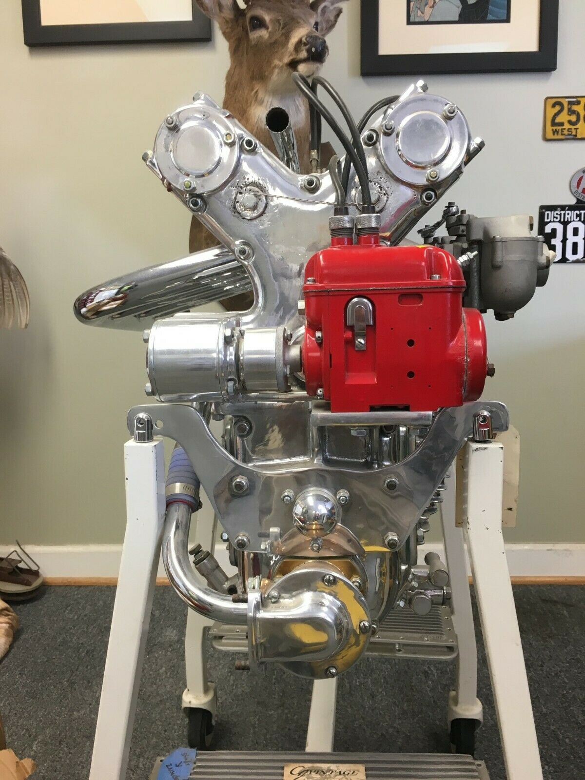 Little Giant: This 110ci Offenhauser Engine Needs A Vintage Midget To Land In Stat!