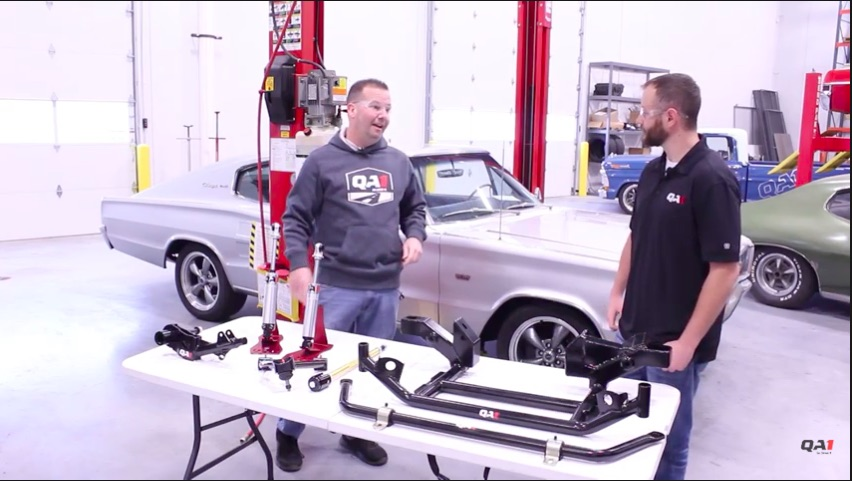 Want To Make Your Classic Mopar Handle? This Video From QA1 Gives You The Best Suspension Upgrades!
