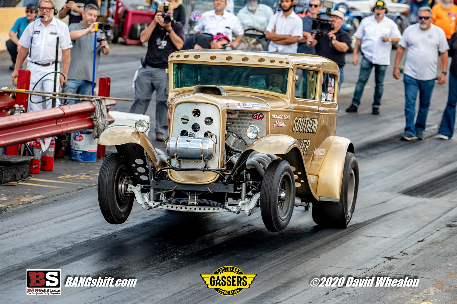Drag Action Photos: The Southeast Gassers Association At Shadyside Dragway! More Wheels Up Madness!
