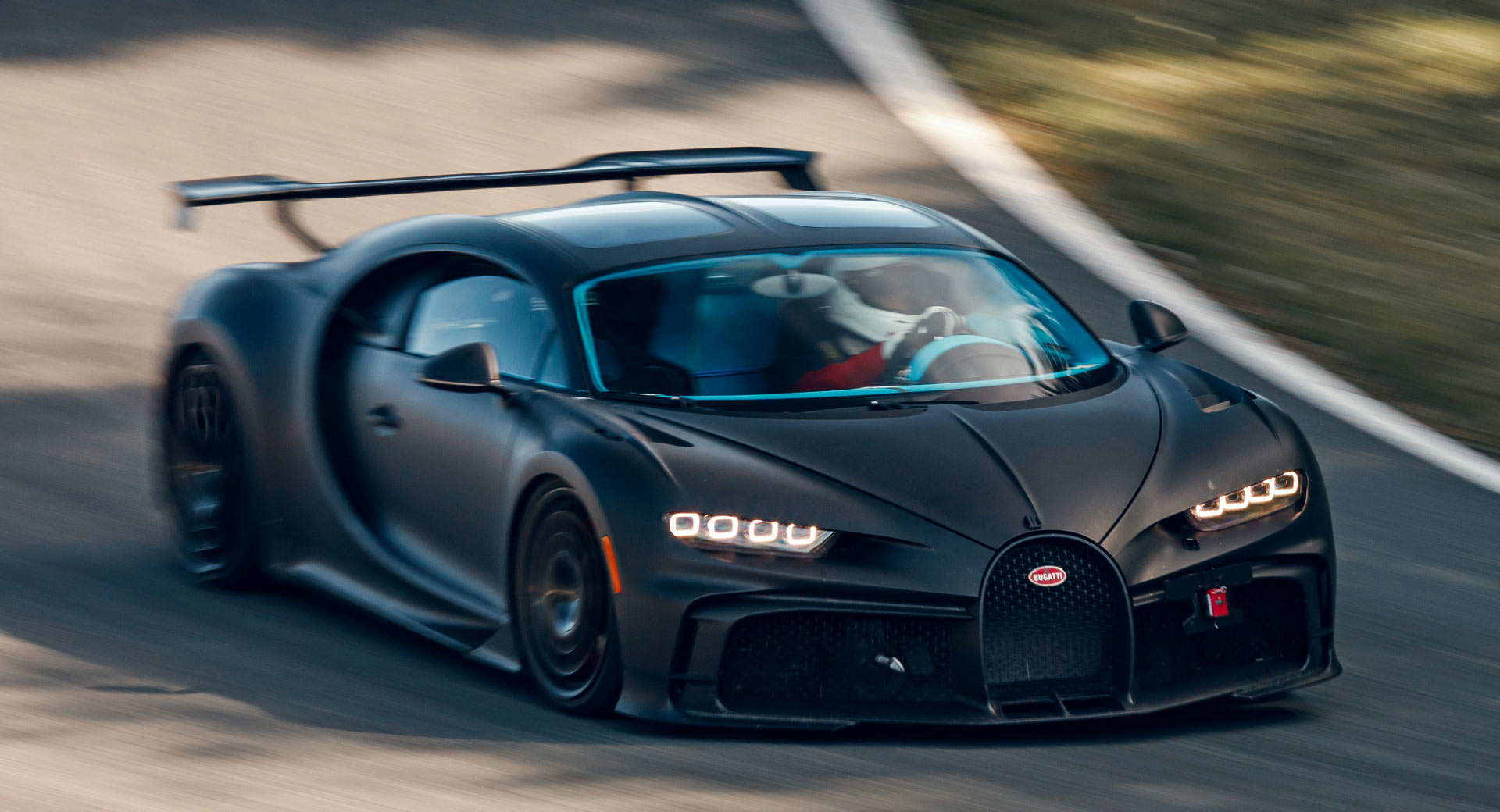 The Bugatti Chiron Pur Sport Is All Internal Combustion, All The Money, and Not That Bad On Gas!