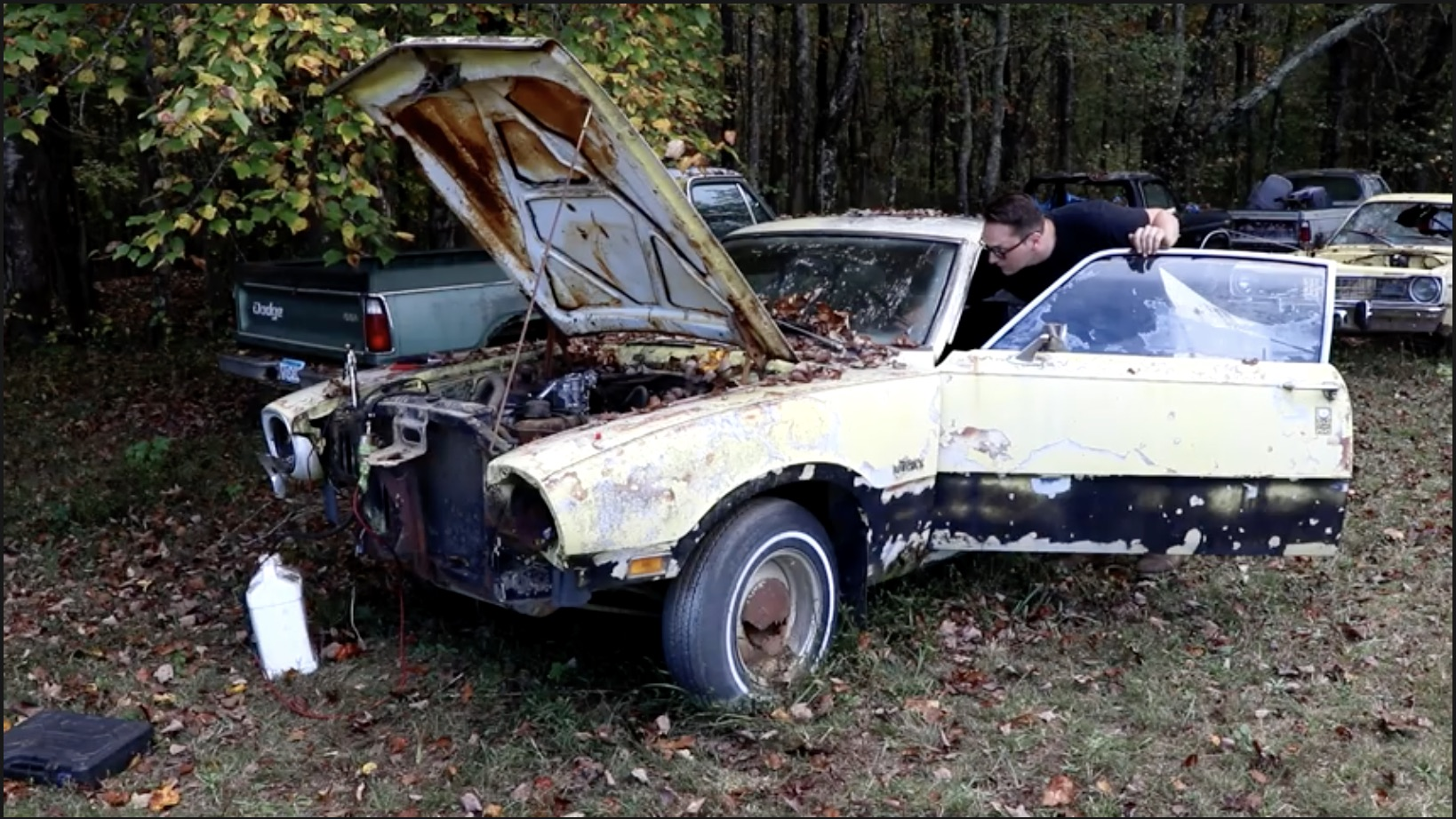 Lost Steer Part 1: Getting A 1970 Ford Maverick Revival Started