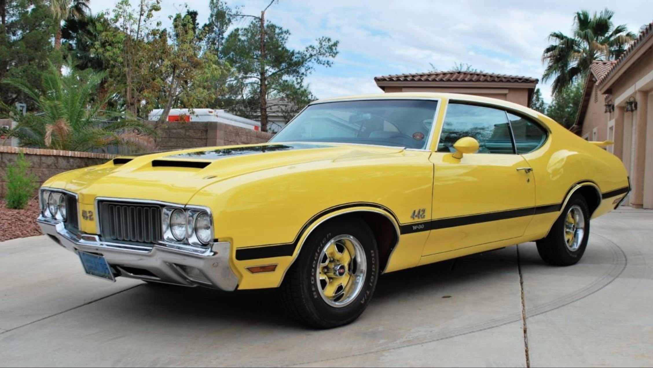 Money No Object: 1970 Oldsmobile 442 W-30