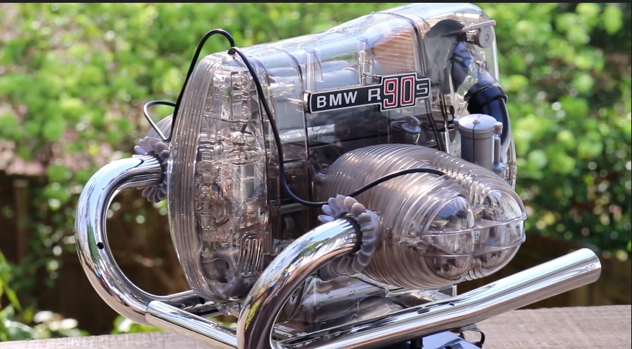Flat-out Cool: Watching This Scale Model Of A BMW RS90 Engine Come Together Is Awesome