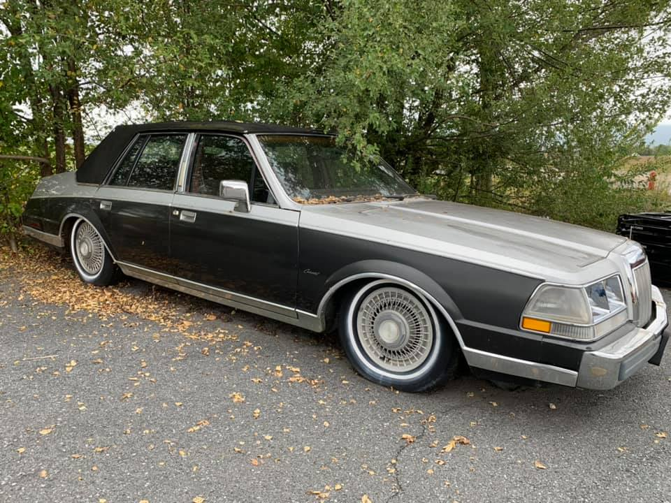 Rough Start: 1987 Lincoln Continental, Also Known As The Four-Door Fox You Don't Want To Remember
