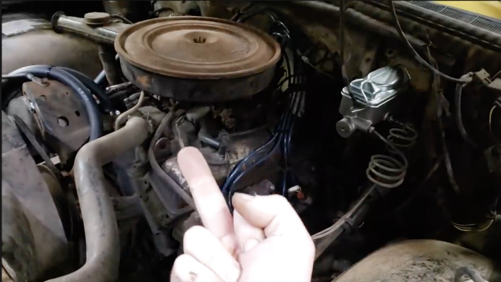 Hammering Away: Biting The Bullet And Doing Rod Bearings With The Engine In The Truck!