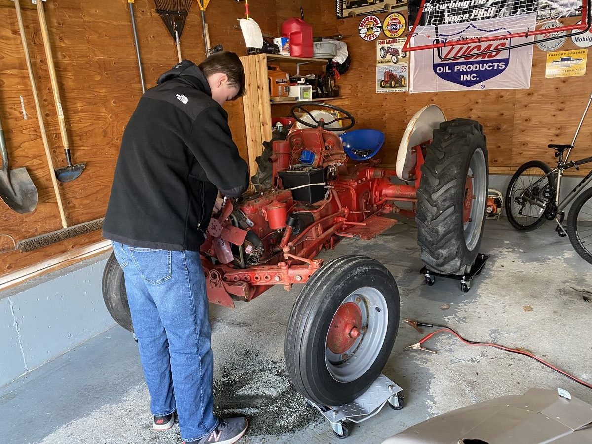 Henry's Hot Rod: We Investigate, Remediate, and Get Our Little Mongrel Ford Tractor Up And Working!